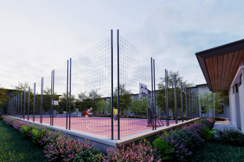 Brook Village Multi-purpose Court